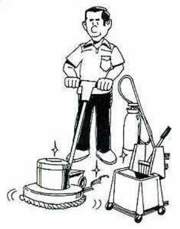 Floor and Carpet Cleaners Clip Art.