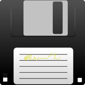 Kuba Floppy Disk Clip Art at Clker.com.