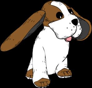 Floppy dog ear clipart.