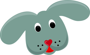 clipart dog ears #5
