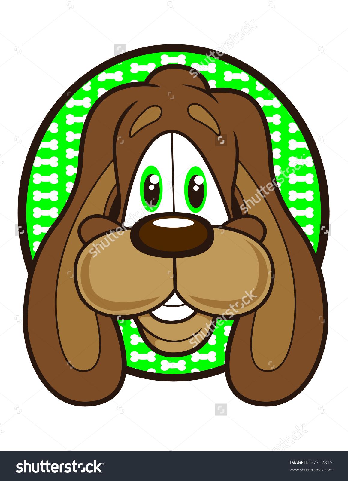 Adorable Cartoon Puppy Dog Long Floppy Stock Vector 67712815.