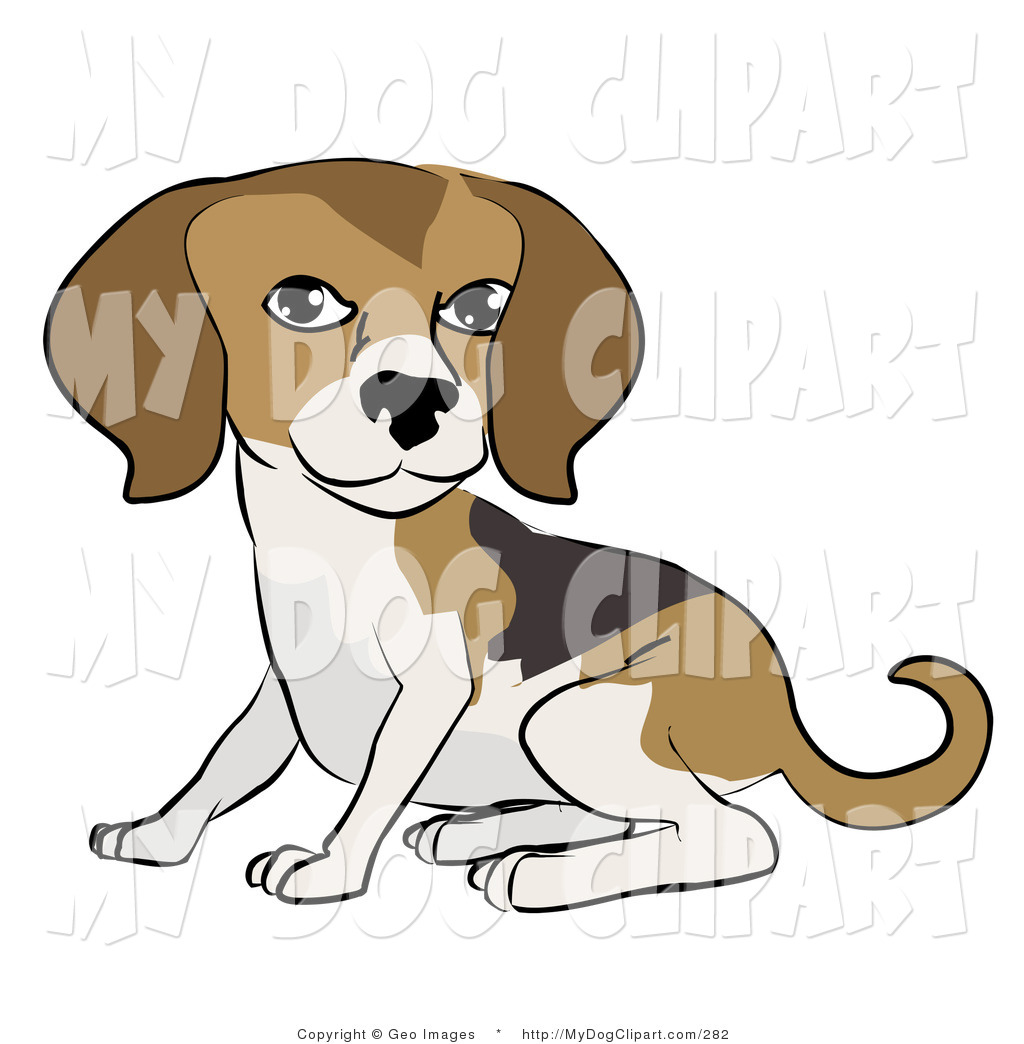 Dog For D Clip Art Image Cute Brown Dog With Floppy Ears. Great.