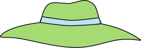 Beach Hat Clipart.