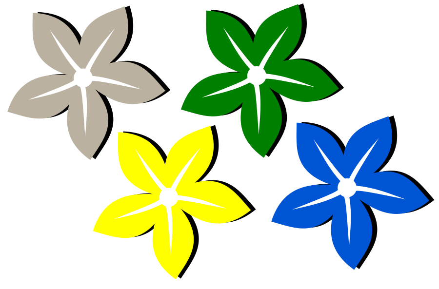 Flower Flor SVG Vector file, vector clip art svg file.