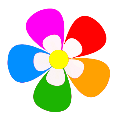 PNG flor multicolor by FluuffyTeddy on DeviantArt.