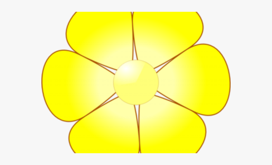 Flower Clipart Yellow.