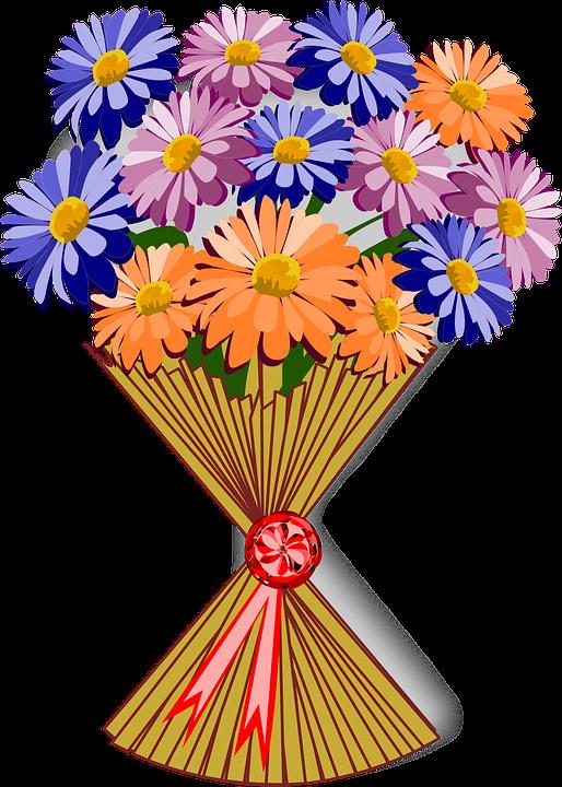 Free vector graphic: Bouquet, Clip Art, Flor, Flora.