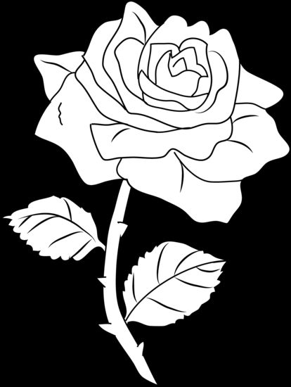 Rose Clip Art by White Lions.