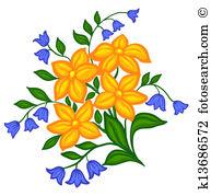 Flower arrangement Clipart Vector Graphics. 4,269 flower.