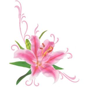 Floral Art Clipart.