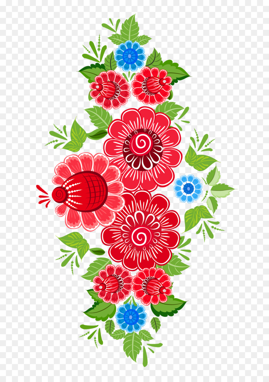 Floral Flower Background png download.