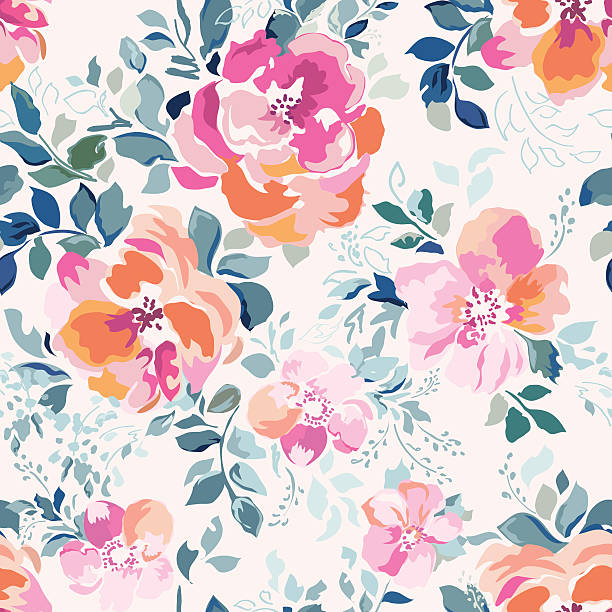 Best Floral Pattern Illustrations, Royalty.