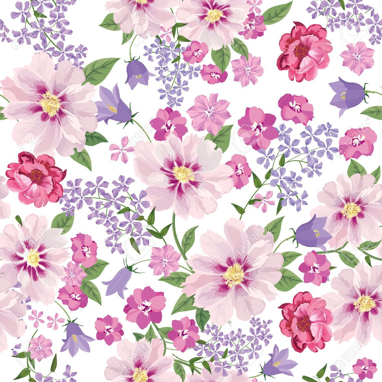 Free floral background clipart 2 » Clipart Portal.