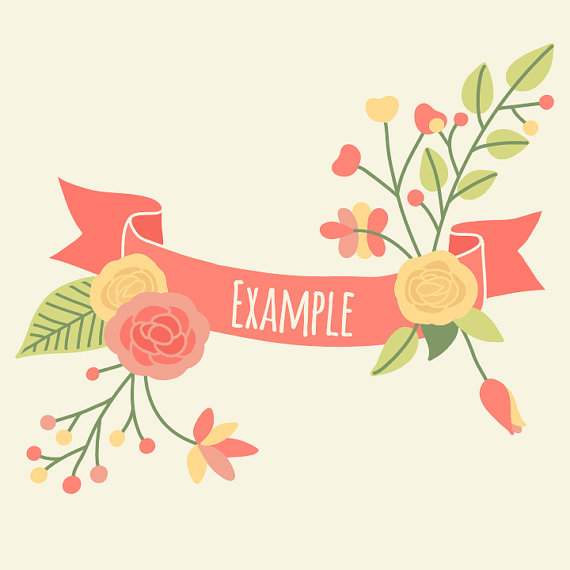 Free Floral Banner Cliparts, Download Free Clip Art, Free Clip Art.