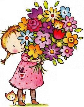Clipart Birthday Flowers.