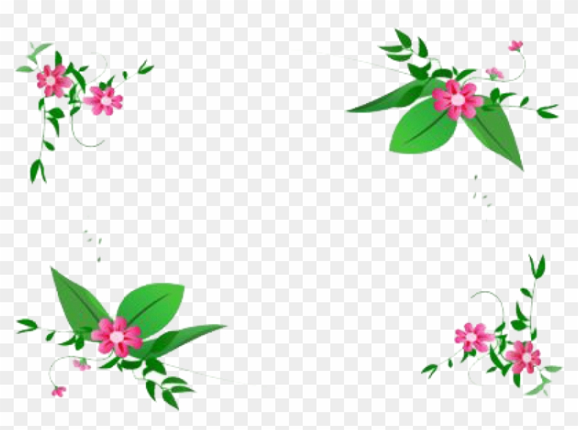 Free Png Flowers Borders Png.