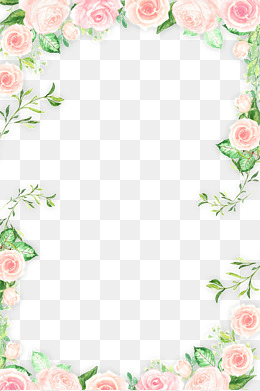 Flowers Borders PNG Transparent Flowers Borders.PNG Images..