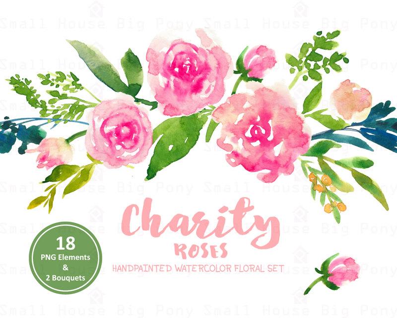 Floral Bouquet Clipart.