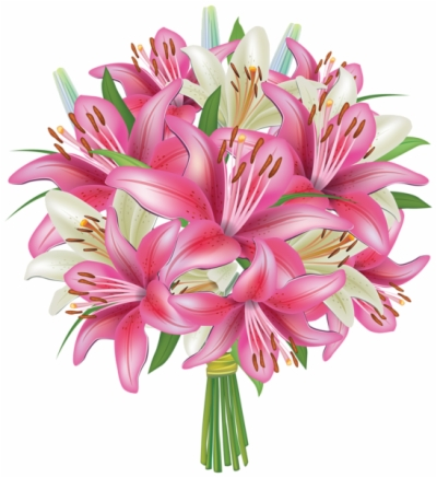 bouquet of flowers , Free clipart download.