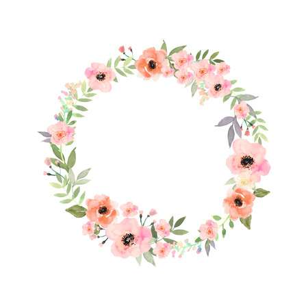 351,314 Floral Circle Cliparts, Stock Vector And Royalty Free Floral.