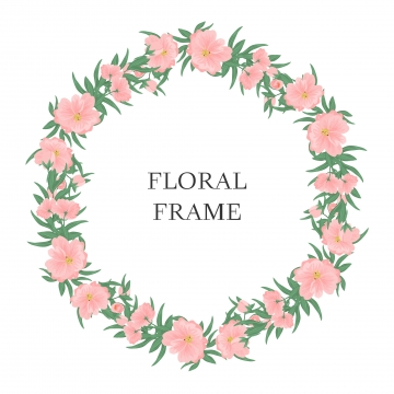Floral Circle Png, Vector, PSD, and Clipart With Transparent.