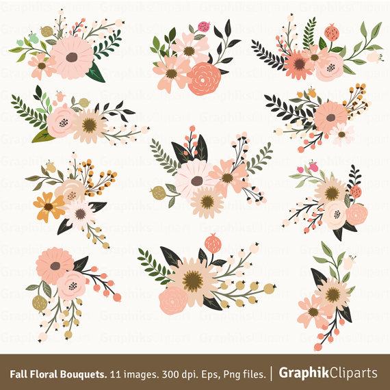 Clipart floral.