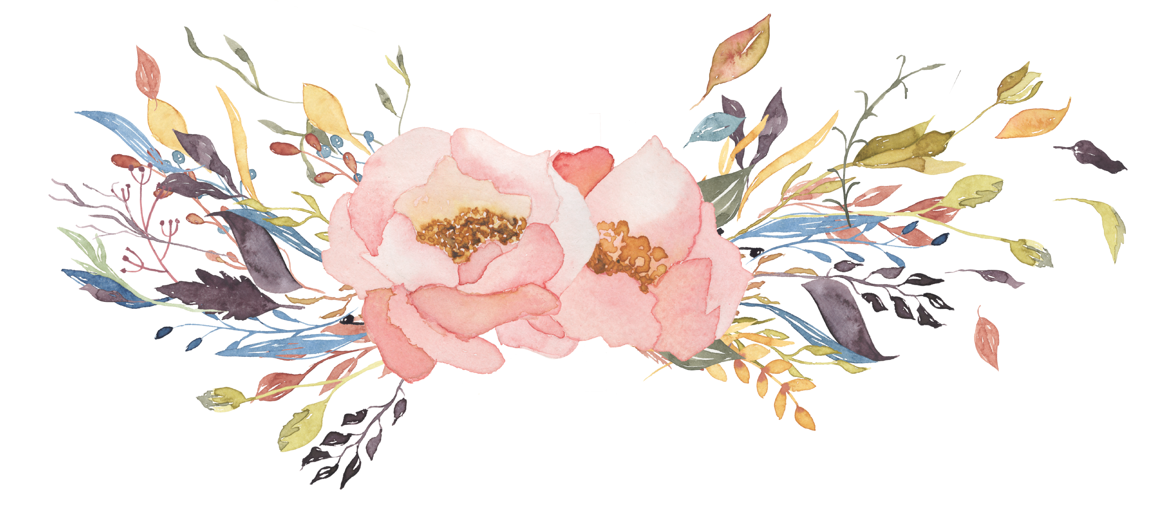 9866 Floral free clipart.