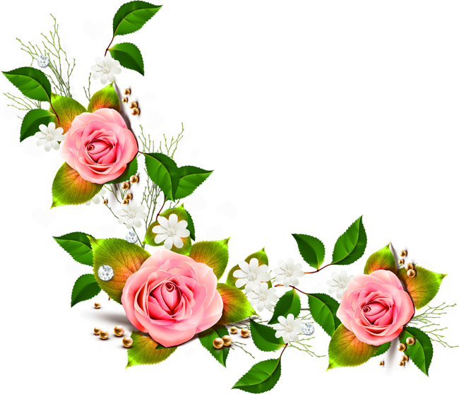 Free Flower Corner Cliparts, Download Free Clip Art, Free.