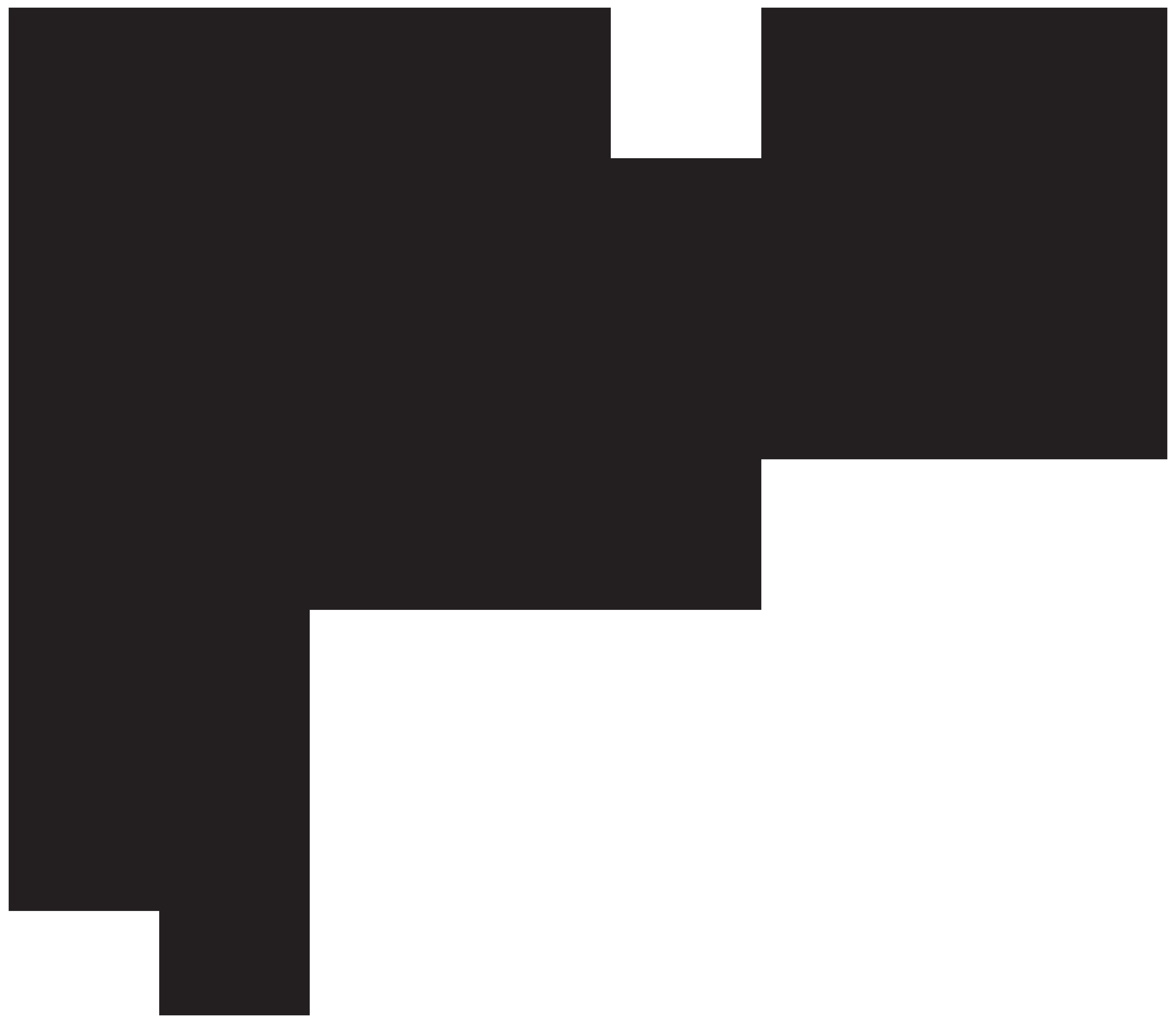 Floral Decor PNG Clip Art Image.