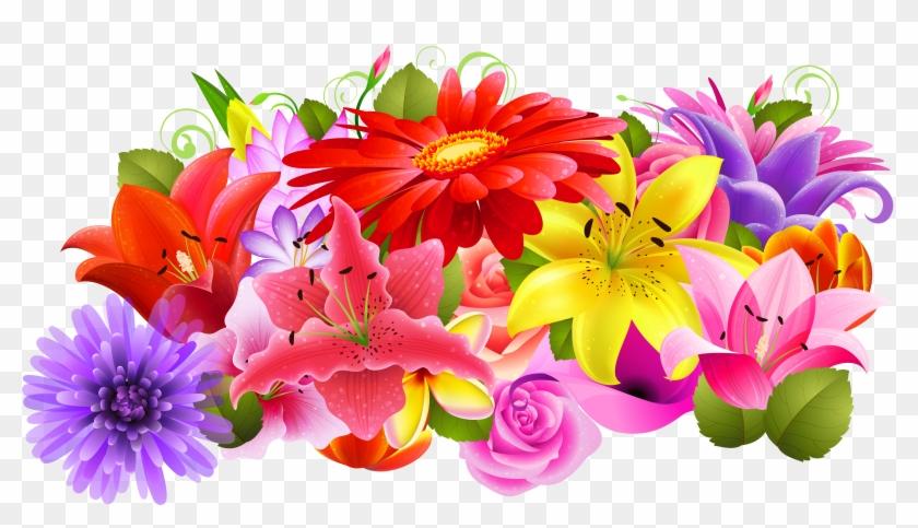 Floral Decor Png Clipart.
