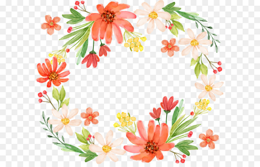 Floral Pattern Background png download.