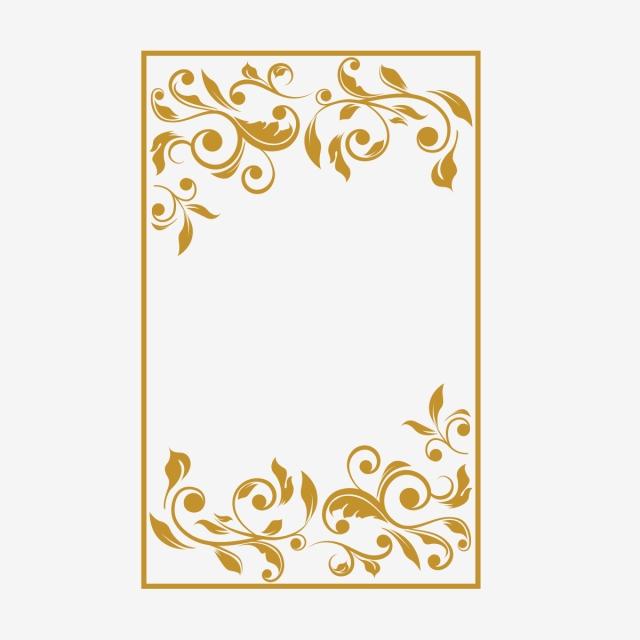 Floral Border Design, Horizontal, Floral, Decor PNG Transparent.