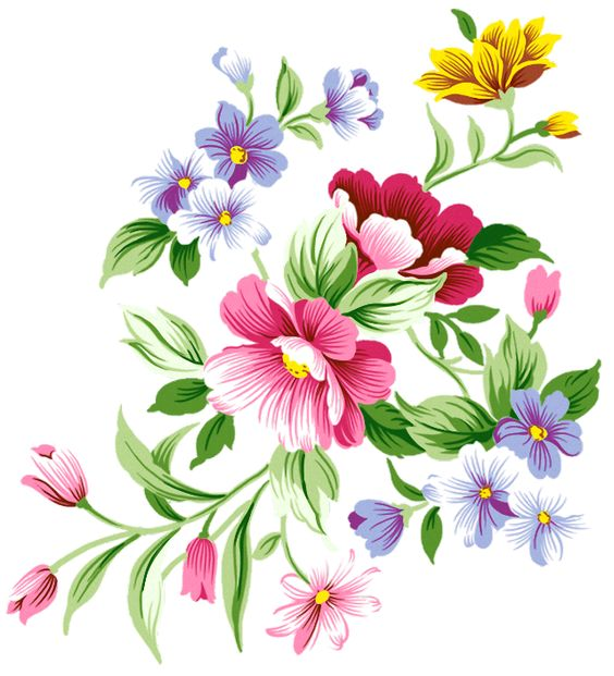 Flower Decorations Clipart.