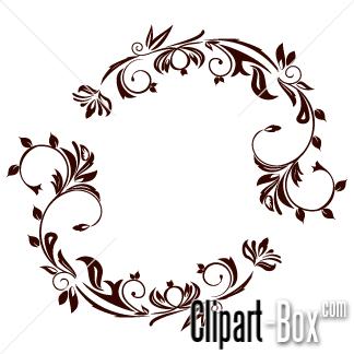 CLIPART FLORAL DESIGN.