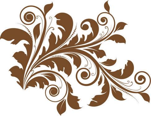 Graphic Floral Design.
