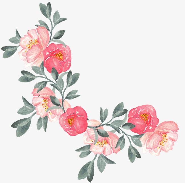 Floral Design PNG Images.