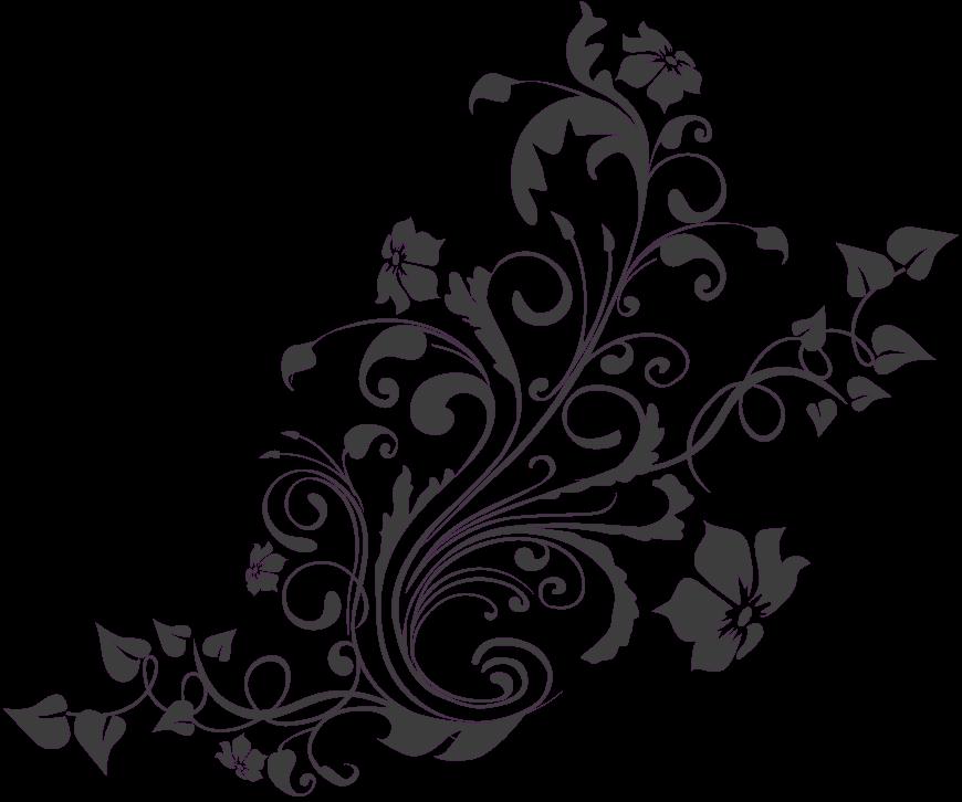 HD Floral Design Patterns Png , Free Unlimited Download #1419252.