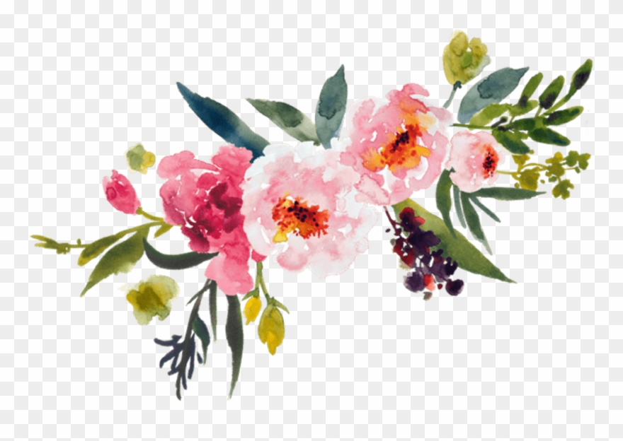 Painting Flower Bouquet Clip Art Leaves Transprent.