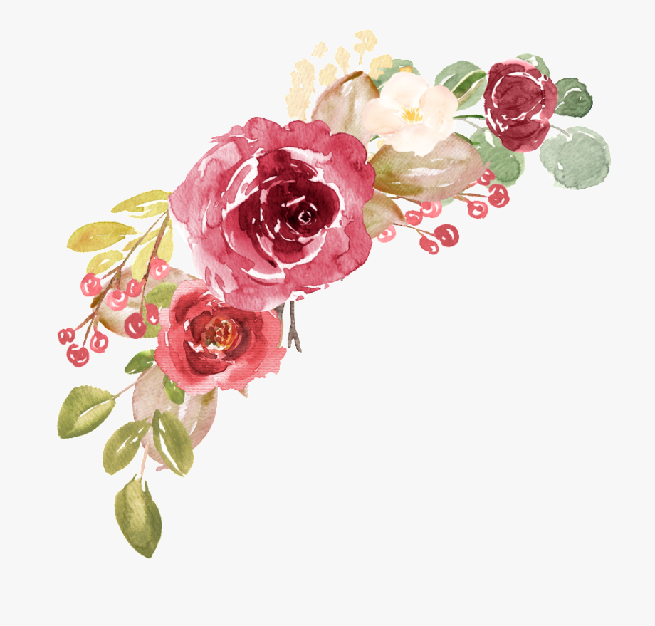 Floral Watercolor Png.