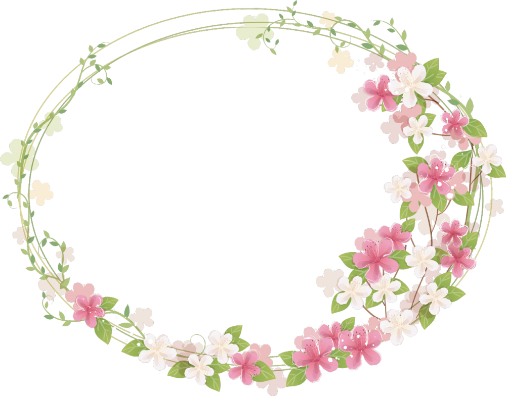 Download Floral Frame PNG Photos For Designing Projects.