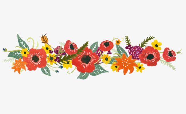 Floral garland clipart 7 » Clipart Portal.