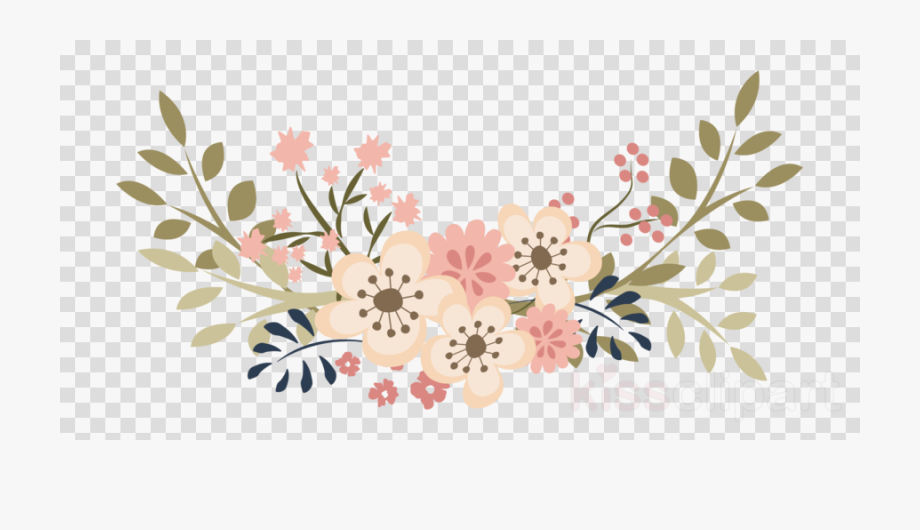 Lavender Floral Wreath Clipart Floral Design Wedding.