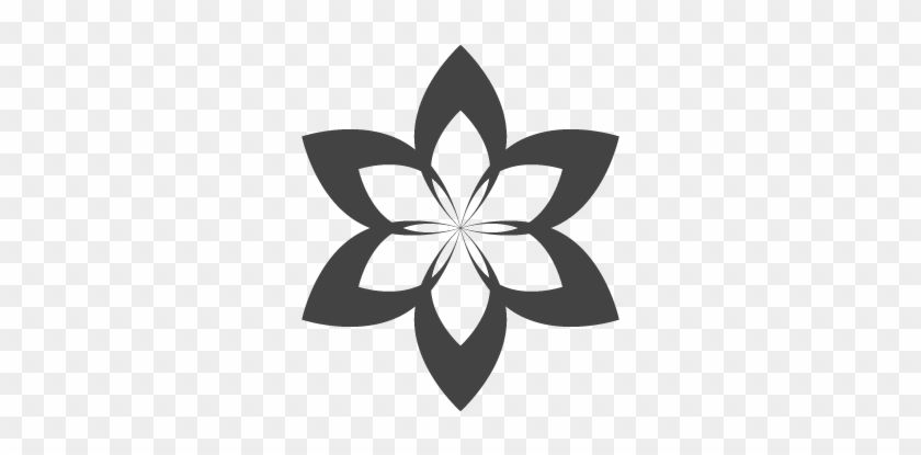 Transparent Flower Logo.