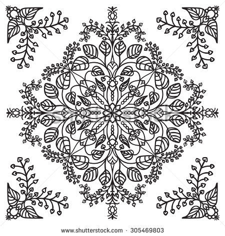 Kaleidoscope Flower Stock Images, Royalty.