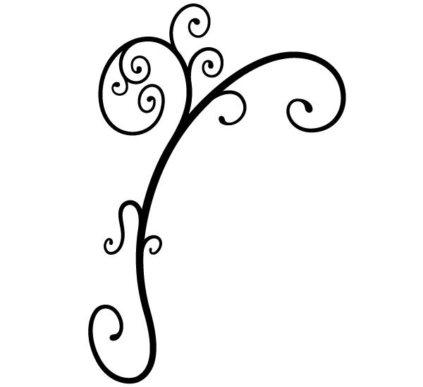 Vector Clip Art Ornament.