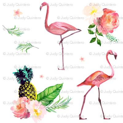 Flamingo Floral Park.