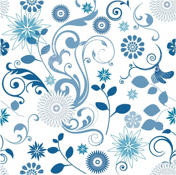 Floral Pattern Free vector in Adobe Illustrator ai ( .AI.