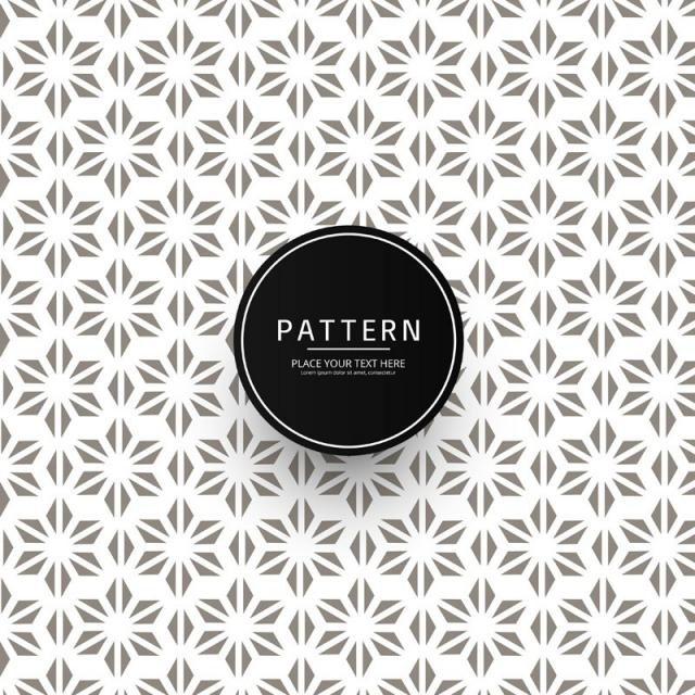 Modern Floral Pattern Background, Floral Vector, Pattern Vector.