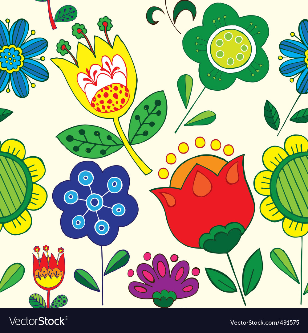 Simple floral print.