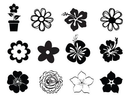 290,744 Flower Silhouette Stock Vector Illustration And Royalty Free.